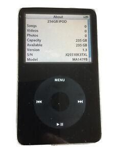 256GB iPod Classic 5th Generation Black MA147FB  JQ551EK3TXL