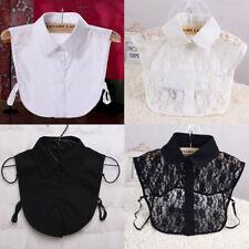 MODE FEMME COLLIER DE CHIEN SEXY détachable revers chemise faux col collier