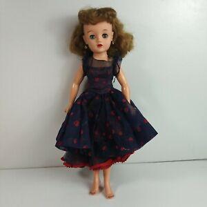"""Vintage Ideal VT-20 Revlon 20"""" Fashion Doll Original Cherries a la Mode dress"""