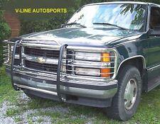 1988-1998 CHEVY / GMC  Silverado / Suburban - GRILL BRUSH GUARD stainless steel