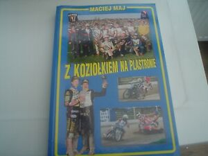 POLISH   LUBLIN   1962-1995   SIGNED  SPEEDWAY  SOFT COVER BOOK