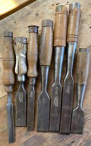 Old Large Chisels Ward Charles Taylor English Made