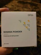 Ofra pressed Banana Powder-NIB- Full Size-0.35 oz- setting&brightning