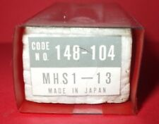 Mitutoyo Micrometer Head Mhs1 - 13, Code No. 148-104