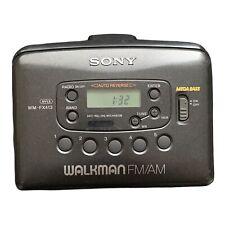 Sony Cassette Walkman AM/FM Radio WM-FX413