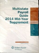 Multistate Payroll Guide 2014 Mid-Year Supplement (Wolters Kluwer) New Paperback