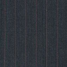 Grey with Pink Pinstripe Super 120's Wool/Cashmere Suiting Fabric - 3.50 Mtrs