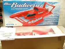 MISS BUDWEISER 1/12 SCALE NITRO RC BOAT ZENOAH PROBOAT RARE NOS NEW IN BOX PRB