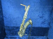 C.G. Conn 12M Cut Tone Holes Baritone Saxophone Ser#744432 Needs Repair