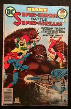 Dc Giant Super-Heroes Battle Super-Gorillas Vol. 1 #1 Winter 1976 5.5 Fn-Bronze