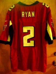 NEW ATLANTA FALCONS NFL Matt Ryan 48 Reebok Onfield Jersey #2 Red Stitched #