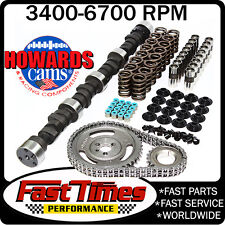 "HOWARD'S SBC Chevy Small Base Circle 299/299 510""/510"" 109° Hyd Camshaft Cam Kit"