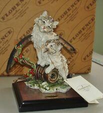 """Giuseppe Armani Play Mates Cat Figurine w/Box -- 7 1/2"""""""