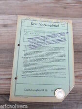 ZÜNDAPP BELLA 201 ROLLER Bj. 1957 ORIGINAL LITERATUR DATENBLATT ! HUHU