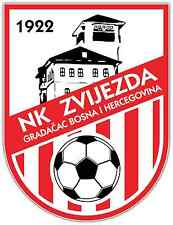 "NK Zvijezda FC Bosnia Football Soccer Car Bumper Sticker Decal 4""X5"""