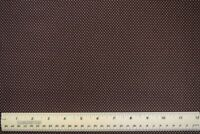 """Brown With White Pin Dots quilting sewing crafts  28"""" 100% cotton fabric"""