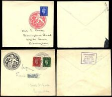 Pre-Decimal Used Cover European Stamps
