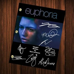 Euphoria Autographed Signed Script Reprint Euphoria Cast Signed Autograph