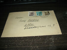 Germany Baden cover with 3 stamps Lot #25