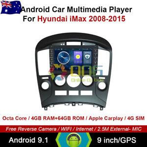 """9"""" Android 9.1 Octa Core Car Non DVD GPS For Hyundai iMax 2008-2015"""