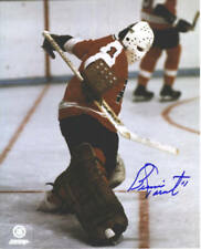 Bernie Parent Philadelphia Flyers Autographed Signed 8x10 Photo HOF #2