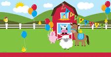 Art de la table de fête nappes multicolores anniversaires-enfants pour la maison
