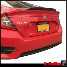 SpoilerKing Rear Trunk Spoiler DUCKBILL 301G (Fits: Honda Civic 4dr 2016-on)