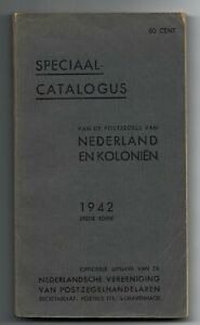 Old Catalog 1942   Netherlands, very RARE !!!