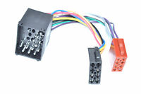 ISO DIN Kabel passend für 3er E30 / E36 / E46 1985-2001 AutoRadio Kabelbaum KfZ