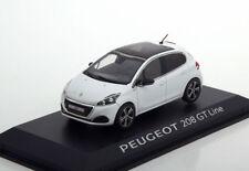 Peugeot 208 GT Ligne Année de construction 2015 1 Blanc 43 NOREV