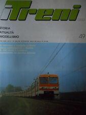 I Treni 49 - Locomotive D 342 al tramonto - Elettromotrici a Genova   [TR.29]
