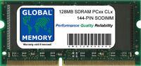 128MB PC66 PC100 PC133 144-PIN Sdram Sodimm Memoria Ram para