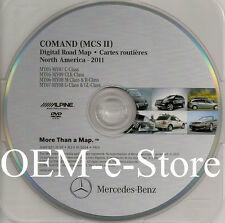 2006 2007 2008 Mercedes ML320 ML350 ML500 ML550 Navigation DVD Map 2011 Update