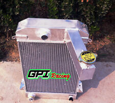 3 ROW Aluminum Alloy Radiator Fit TRIUMPH TR2/TR3/TR3A/TR3B MT 1953-1957  1956