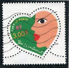 TIMBRE FRANCE OBLITERE N° 3296 SAINT VALENTIN / Photo non contractuelle