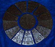CUSTOM STARGATE COVER STONE FIGURE SIZE STAR GATE MOVIE 14 1/2 INCH REPLICA