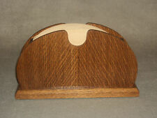 Handcrafted Quarter Ambered Sawn White Oak Coffee Filter Holder for Melitta #4
