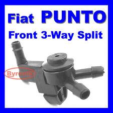 FIAT PUNTO MK1 MK2 WINDSCREEN WASHER JET VALVE 3 Three WAY PIPE SPLITTER FRONT