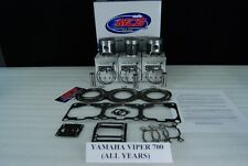 Yamaha Viper 700  piston kit complete 2002-2004 TRIPLE CYLINDER