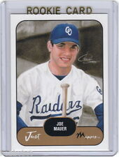 PROMO~RC~JOE MAUER 2002 Just Prospects Prototypes ROOKIE CARD~02~MVP~ALL-STAR~AS