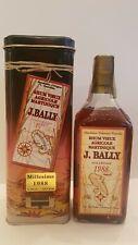Rum J.BALLY Millésime 1988 Rhum Vieux Agricole Martinique With Box