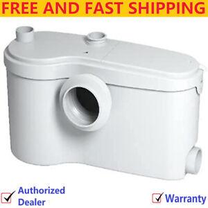 Saniflo SaniBEST Pro | Macerating Upflush Toilet Kit |Pump +Standard + Extension