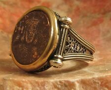 "Ancient Authentic Roman Byzantine ""King of Kings""  Men's Ring"