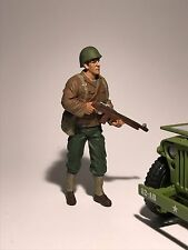 USA ARMY SOLDIER RIFLEMAN WW11 1/18 Scale Model Diecast Toy Car war