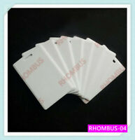 T5577 RFID 2MM Thick Clamshell PVC Writable Programable Card 125Khz