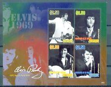 St. Vincent Grenadinen Mustique 2009 - Elvis Presley - The King - Fotos von 1969