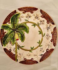 DANTES DESIGN Rare Large Hand Painted Collector's ITALIAN Platter/Wall Hanging