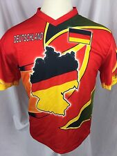 Deutschland World Football Team Jersey Germany Soccer World Cup Pit To Pit 22.5""