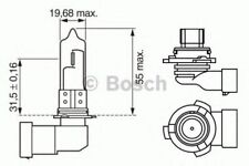 BOSCH PURE/LT BLB9006 HB4 12V 51W P22D - 1987302153