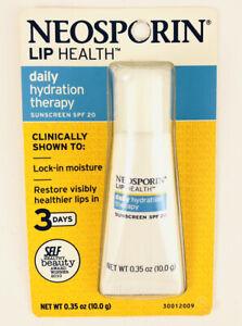 Neosporin Lip Health Daily Hydration Therapy SPF 20. RARE DISCONTINUED 2012